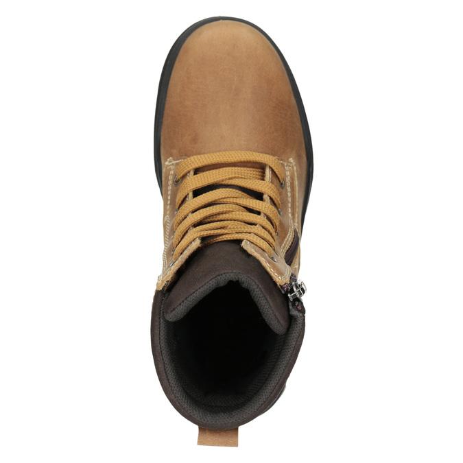 Kotníčková dětská zimní obuv weinbrenner-junior, hnědá, 496-8611 - 15