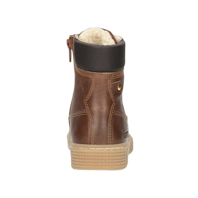 Hnědá dětská zimní obuv mini-b, hnědá, 496-4620 - 16
