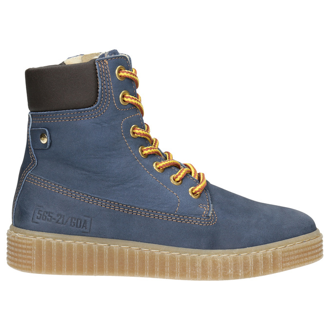 Dětská zimní obuv se zateplením mini-b, modrá, 496-9620 - 26
