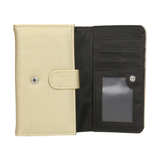 Dámská peněženka se zipovou kapsou bata, 941-8156 - 15