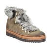 Dámská zimní obuv s kožíškem bata, hnědá, 596-3675 - 13
