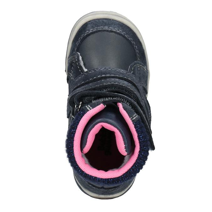 Dětská kožená zimní obuv bubblegummers, modrá, 124-9602 - 15