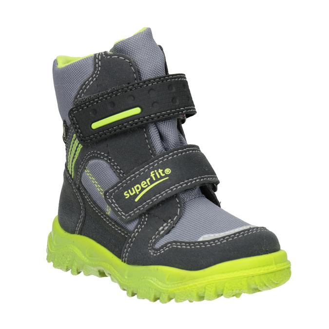 Dětská zimní obuv s výraznou podešví superfit, šedá, 299-2025 - 13