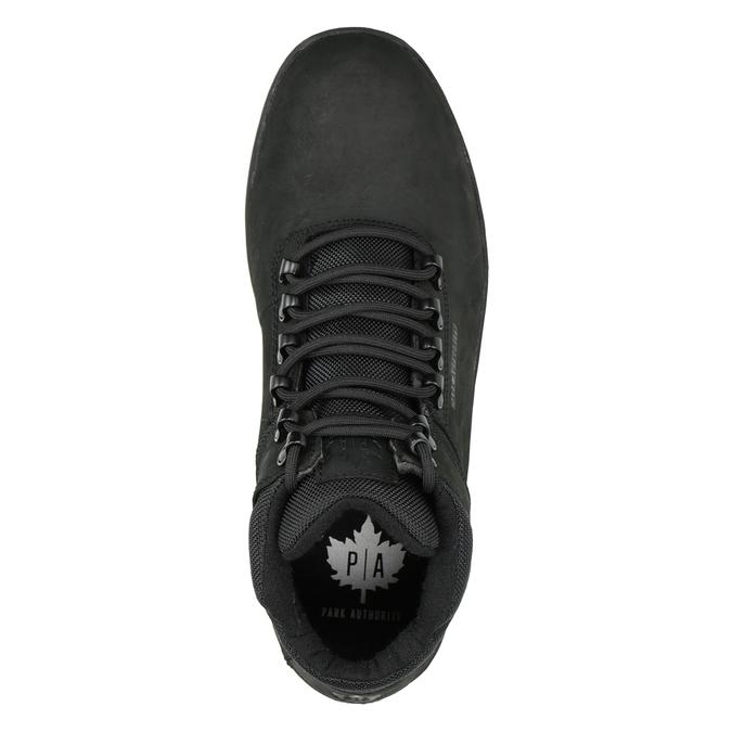 Černá pánská kotníčková obuv k1x, černá, 806-6495 - 15