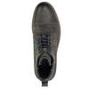 Kožená obuv s modrými detaily bata, šedá, 896-2679 - 26