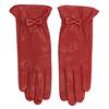 Červené kožené rukavice junek, červená, 924-5011 - 26