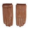 Kožené rukavice hnědé bata, hnědá, 904-3117 - 26