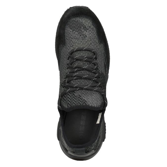 Dámské sportovní tenisky diesel, černá, 509-6760 - 17