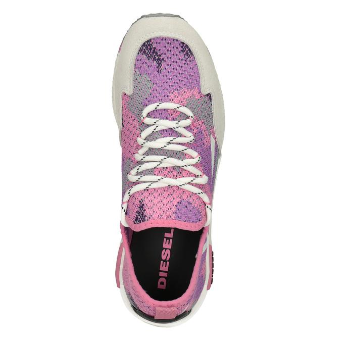 Růžové sportovní tenisky diesel, růžová, 509-5760 - 17