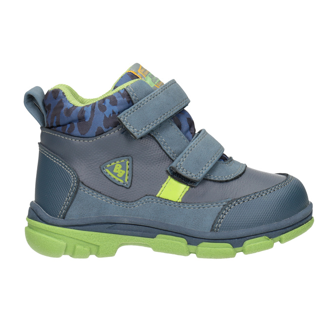 Kotníčková dětská obuv bubblegummers, modrá, 111-9623 - 16
