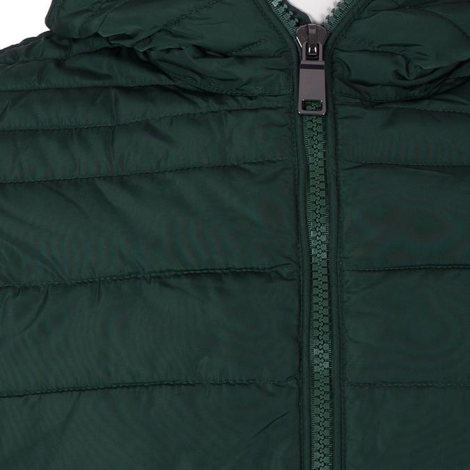 Zelená pánská bunda s kapucí bata, zelená, 979-7130 - 16