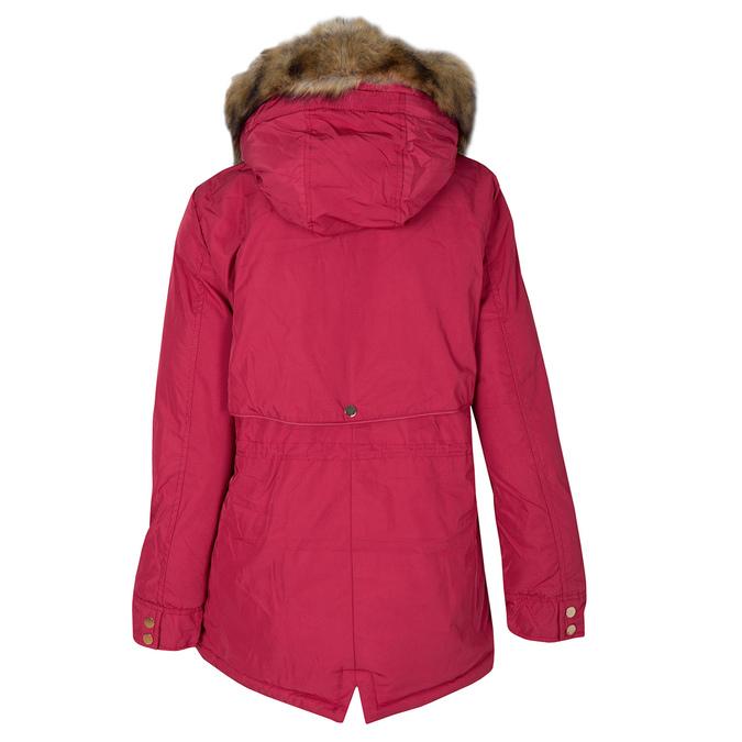 Červená dámská bunda s kapucí bata, červená, 979-5177 - 26