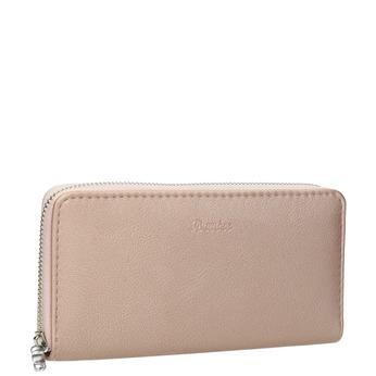 Dámská peněženka růžová bata, růžová, 941-5155 - 13