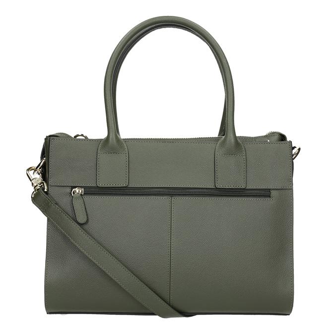 Kožená kabelka s popruhem picard, zelená, 966-7039 - 16