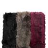 Kožešinová šála bata, vícebarevné, 909-0648 - 13
