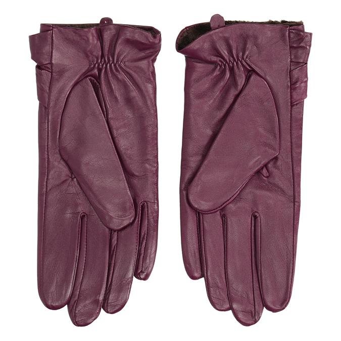 Dámské kožené rukavice bata, vícebarevné, 904-0109 - 16
