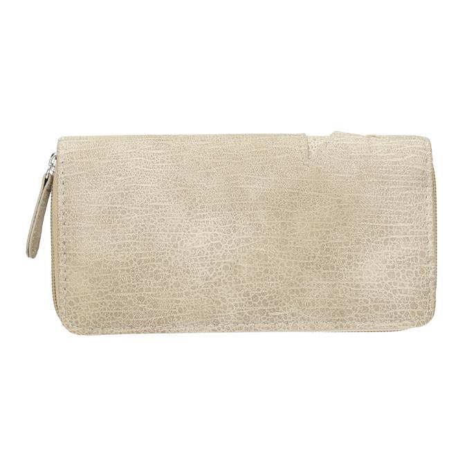 Dámská peněženka s hvězdami bata, béžová, 941-2154 - 16