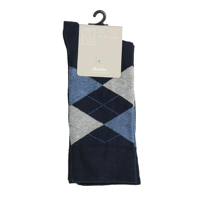 Pánské ponožky s anglickým vzorem bata, 919-9643 - 13