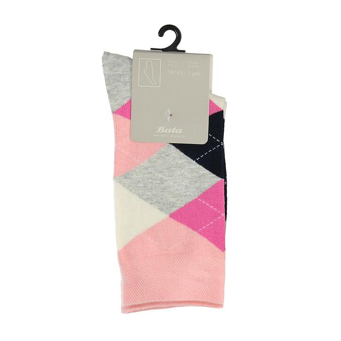Dámské barevné ponožky bata, 919-8658 - 13