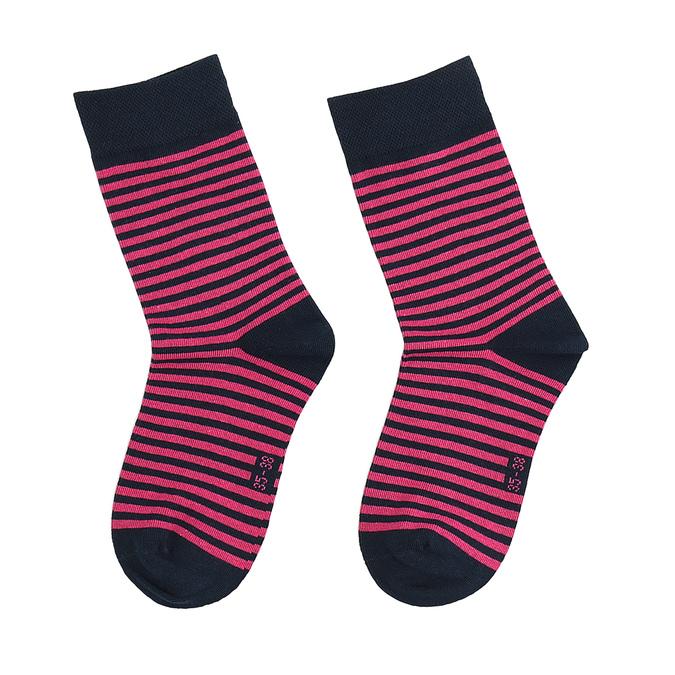 Balení dvou párů dámských ponožek bata, modrá, 919-9653 - 26