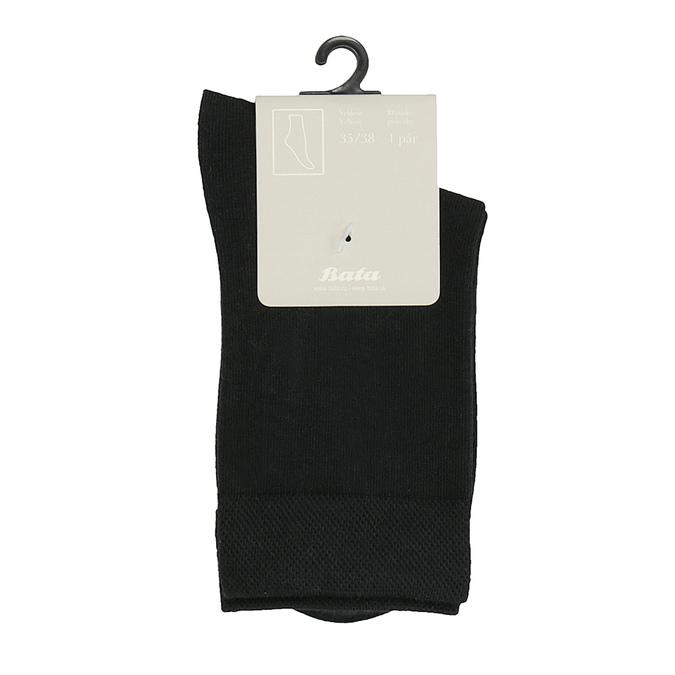 Dámské černé ponožky bata, černá, 919-6655 - 13