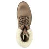 Kožená dámská zimní obuv weinbrenner, hnědá, 696-4336 - 26