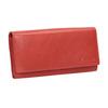 Dámská červená peněženka z kůže bata, červená, 944-3203 - 13