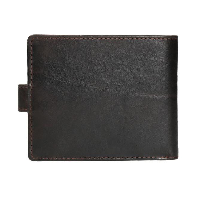 Pánská kožená peněženka bata, hnědá, 944-4202 - 16