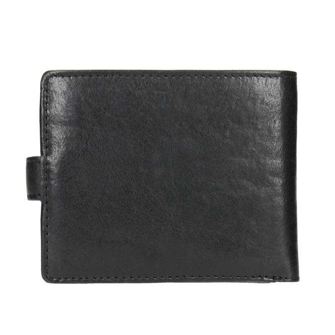 Dárkové balení kožený opasek a peněženka bata, černá, 954-6200 - 16