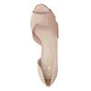 Společenské lodičky s kamínky bata, růžová, 729-8613 - 17