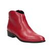 Červená kotníčková obuv bata, červená, 594-5665 - 13