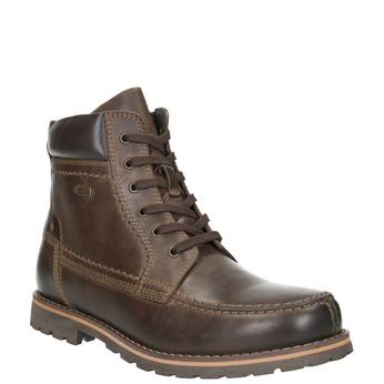 Pánská kotníková obuv bata, hnědá, 896-4640 - 13