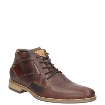 Pánská kožená kotníková obuv bata, hnědá, 826-3926 - 13