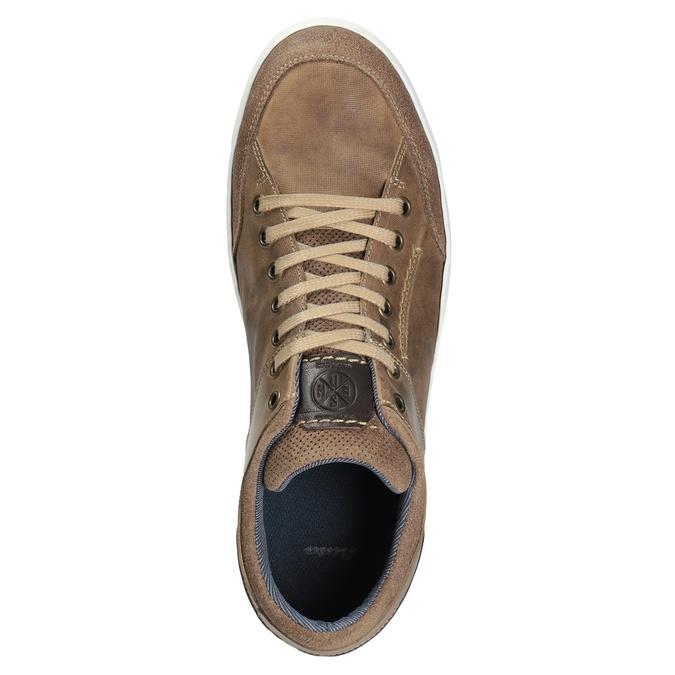 Kožené pánské tenisky bata, 846-8927 - 15