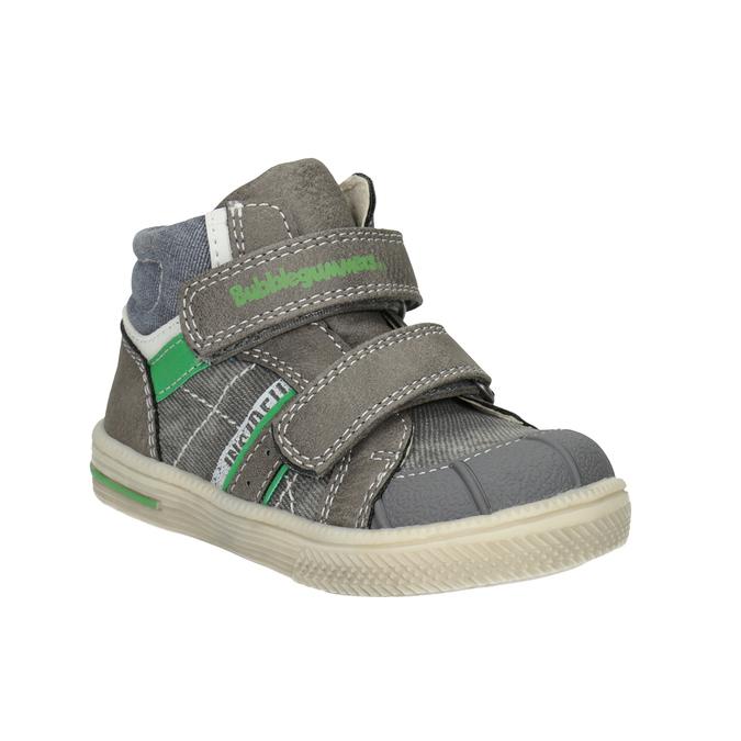 Kotníčková dětská obuv bubblegummers, šedá, 111-2614 - 13