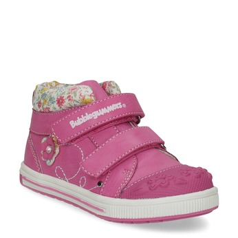 Růžová kotníčková obuv na suché zipy bubblegummers, 121-5618 - 13