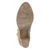Kotníčkové kozačky s výšivkou a kamínky bata, 696-2655 - 19