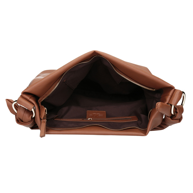 Hnědá dámská Hobo kabelka bata, hnědá, 961-3843 - 15
