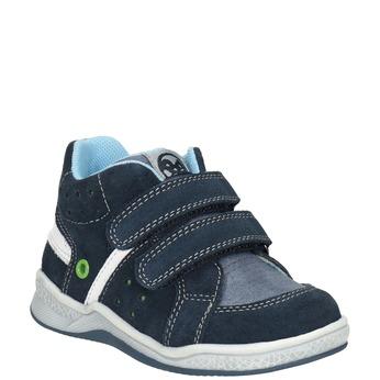 Dětská kožená kotníčková obuv bubblegummers, 113-9603 - 13