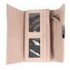 Růžová dámská peněženka s prošitím bata, 941-9169 - 15