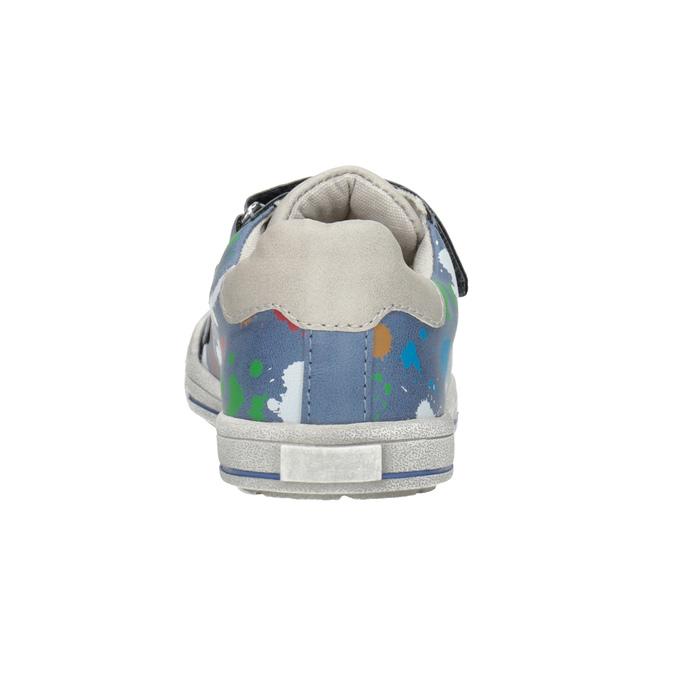 Modré tenisky s potiskem mini-b, 211-9218 - 16