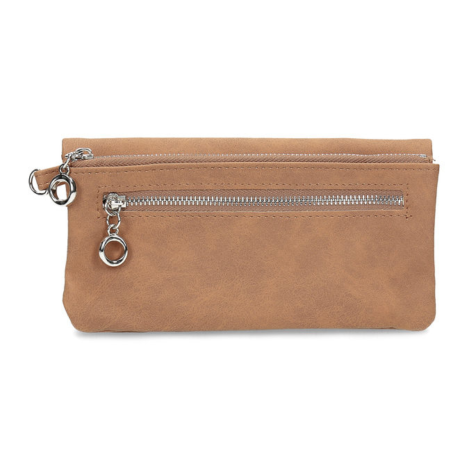 Hnědá dámská peněženka bata, 941-4215 - 16