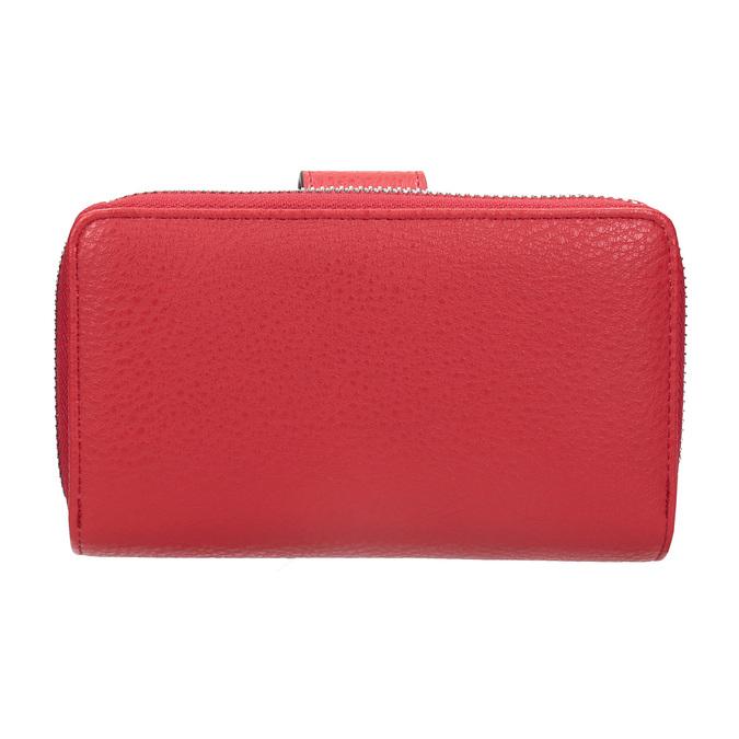 Červená dámská peněženka bata, červená, 941-5160 - 16