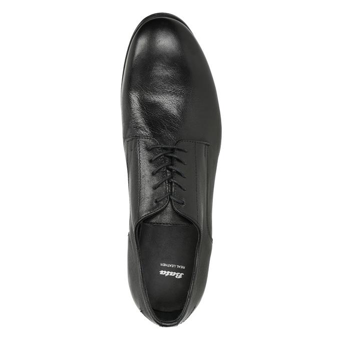 Celokožené pánské polobotky bata, černá, 824-6733 - 17