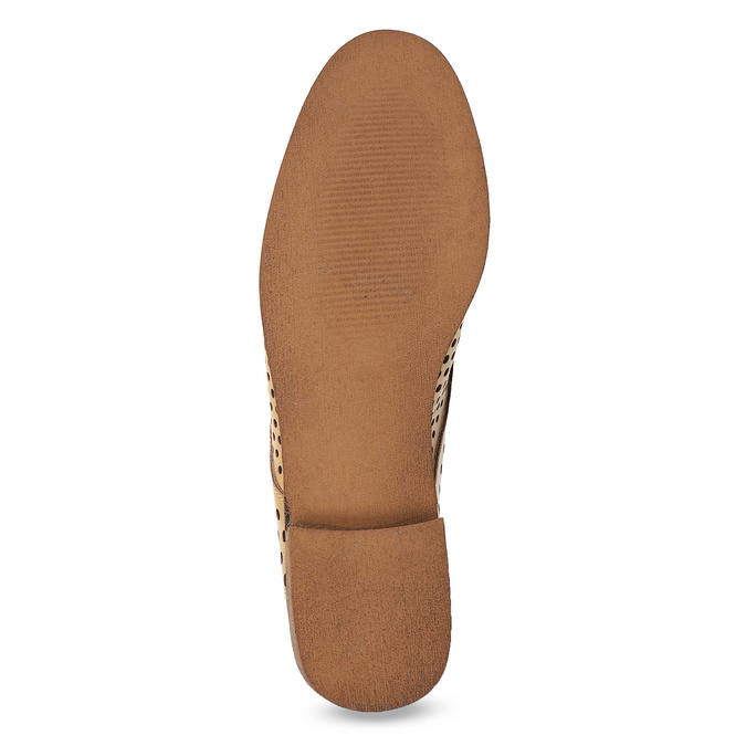 Dámské polobotky s perforací bata, 521-4610 - 18