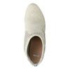 Kotníčkové kozačky s perforací bata, šedá, 791-2615 - 15