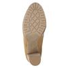 Hnědé kotníčkové kozačky na podpatku bata, hnědá, 791-3615 - 17