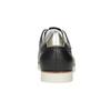 Dámské kožené polobotky ležérní flexible, černá, 546-6614 - 15