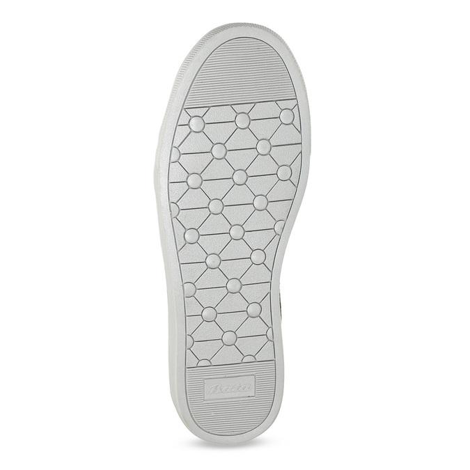 Stříbrné dívčí tenisky s kamínky mini-b, stříbrná, 329-2301 - 18