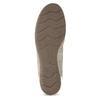 Kožené baleríny s kamínky gabor, béžová, 526-8502 - 18